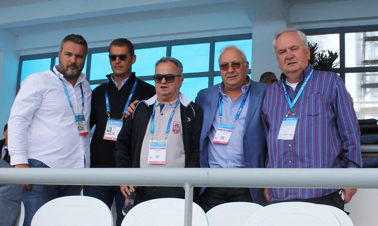 Božidar Maljković, Đorđe Višacki, Milorad Krivokapić