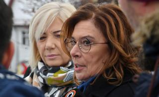 Kidawa-Błońska o podpisaniu noweli ustaw sądowych: To kolejny krok w stronę polexitu