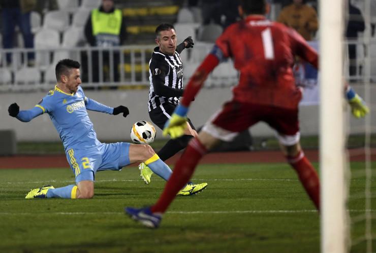 FK Partizan, FK Astana