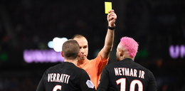Neymar wściekł się na sędziego. Został ukarany kartkąza efektowną sztuczkę