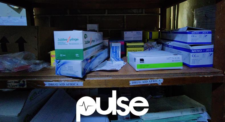 Drug Aid Africa's donation at Massey Street Children's Hospital, Lagos (2)