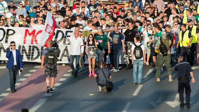 Marsz przeciwko brutalności policji, Wrocław