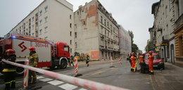 Zawalona kamienica w Łodzi sparaliżowała komunikację