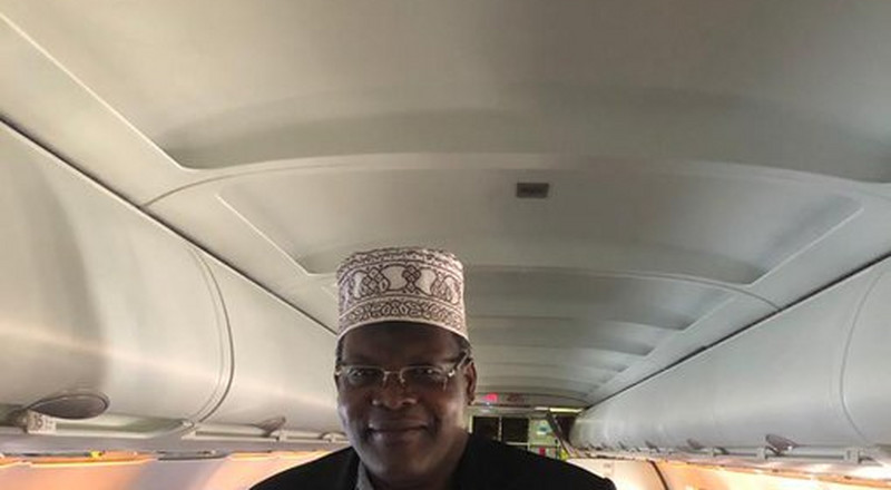 UPDATE: Miguna Miguna finally boards plane to Kenya