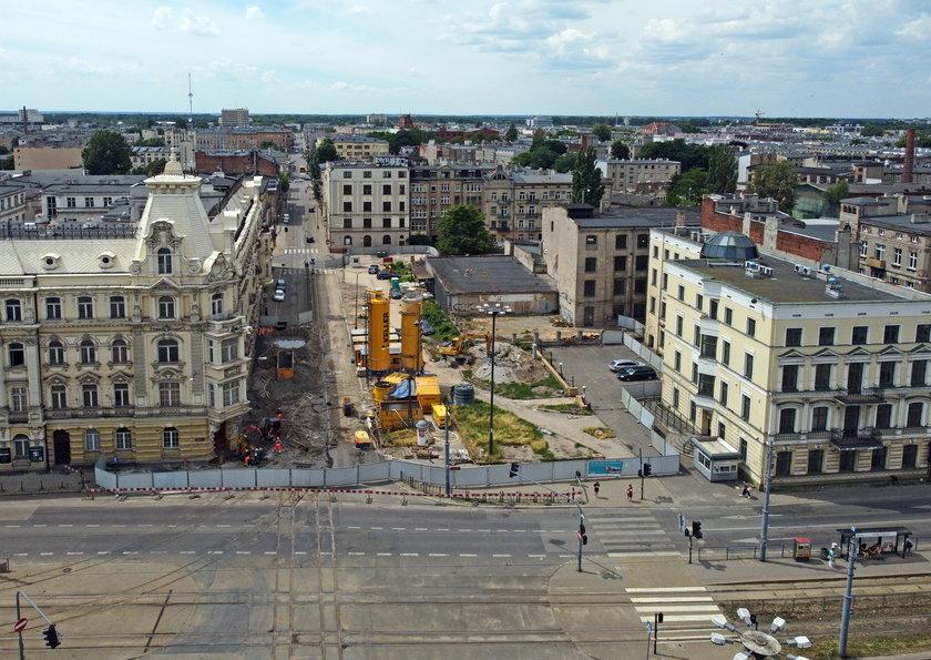 Budowa stacji Łódź Śródmieście