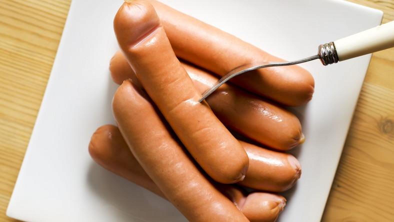 parówki mięso wędlina