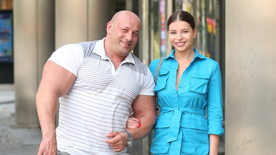 Robert Burneika i Kaja Kędzierska