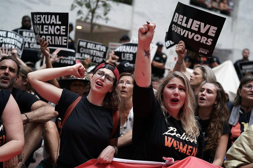 Wielu Amerykanów protestowało przeciw jego nominacji