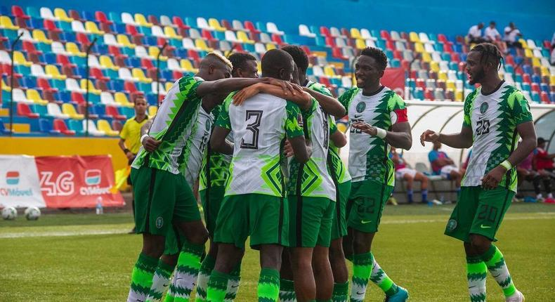 Super Eagles of Nigeria will take on Central Africa Republic on Thursday  (Instagram/Super Eagles)
