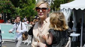 Cate Blanchett zabrała 3-letnią córkę do Cannes