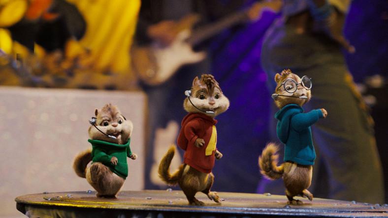 Śpiewające wiewiórki lepsze Bee Gees