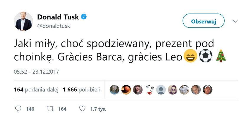 Donald Tusk porzucił swoją miłość?