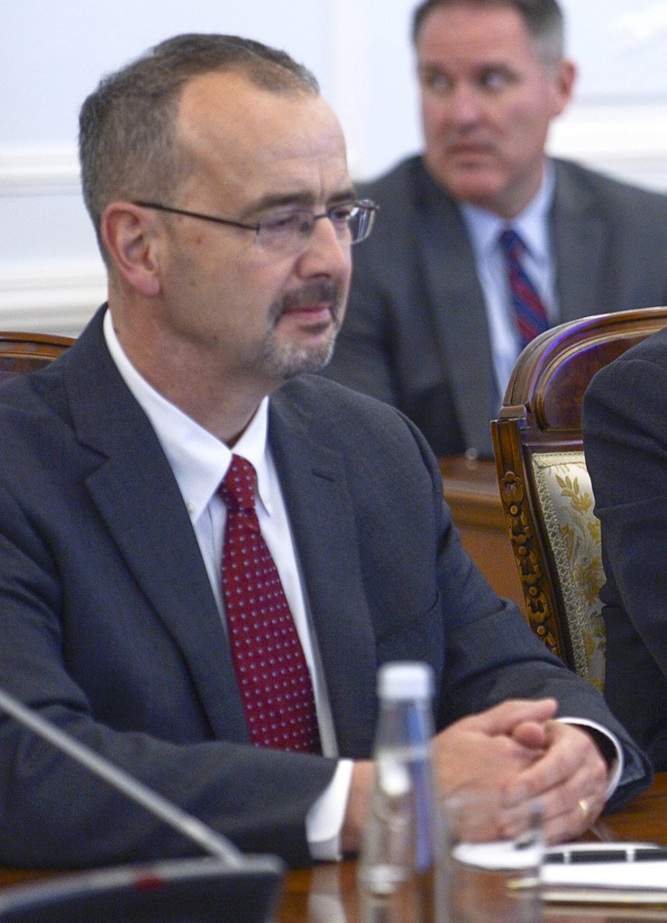 Entoni Godfri, SAD, Ambasador, Srbija