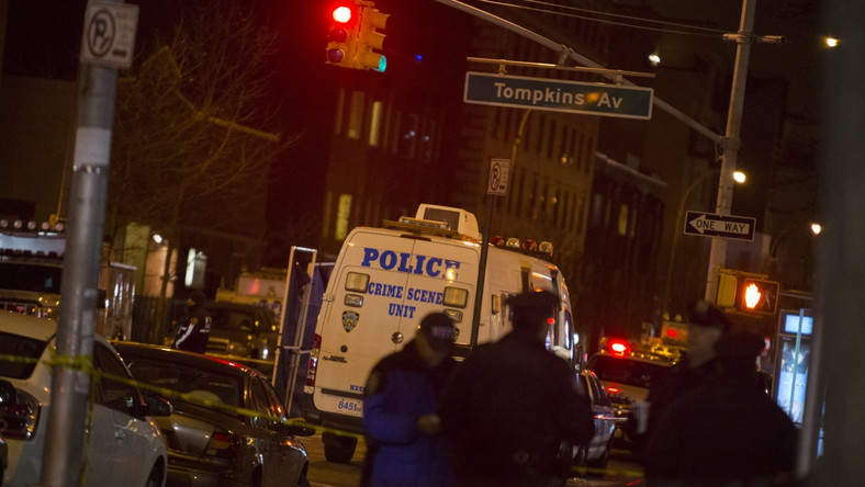 Czarnoskóry mężczyzna zastrzelił policjantów w Nowym Jorku. WIDEO