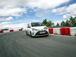 Toyota Yaris GRMN - GRMN-y rozrabiają