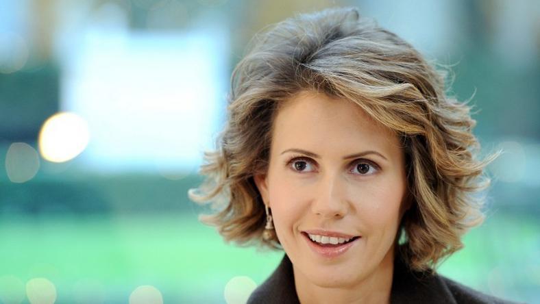 Asma al-Assad, fot. MIGUEL MEDINA / AFP