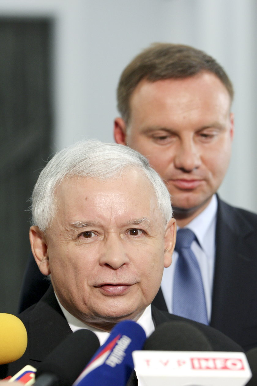 Kaczyński i Duda