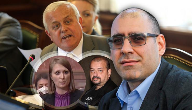 sormaz atlagic pantic djukanovic RAS Dejan Zivancevic, Milos Petrovic, Rajko Ristic, RTS