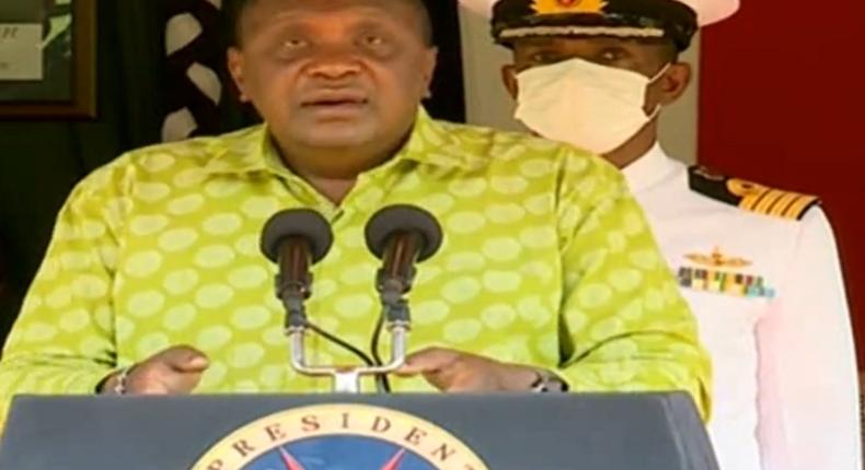 Uhuru give nation address