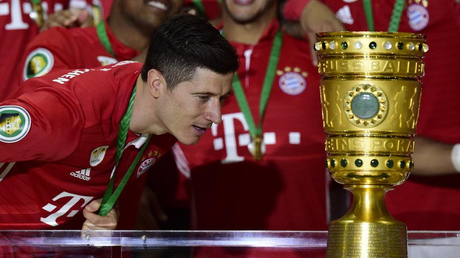 Robert Lewandowski chce zdobyć kolejny Puchar Niemiec