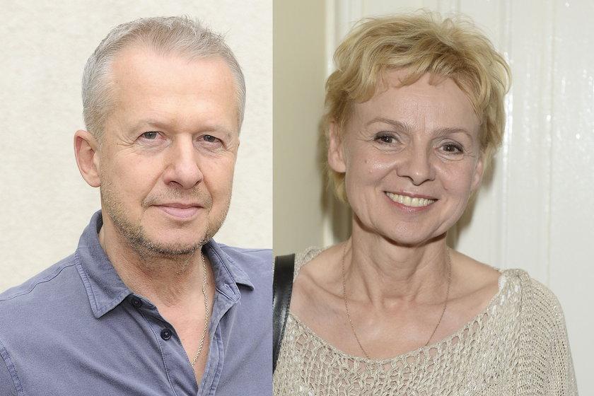 Ewa Wencel i Bogusław Linda