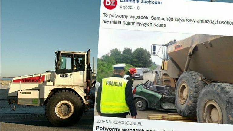 Wypadek na budowie obwodnicy Częstochowy