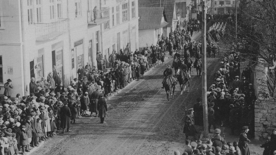 Obchody Święta Niepodległości w Czortkowie, 1930 r.
