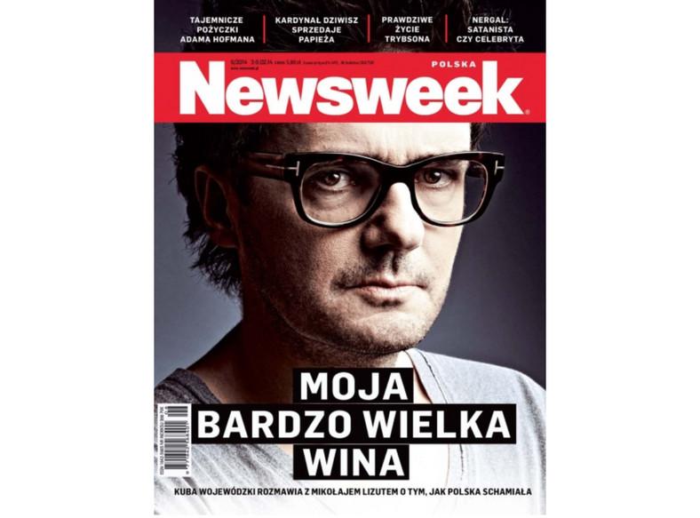 """Kuba Wojewódzki na okładce """"Newsweeka"""""""