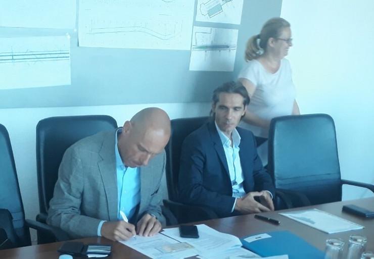 potpisivanje ugovora marina dorćol