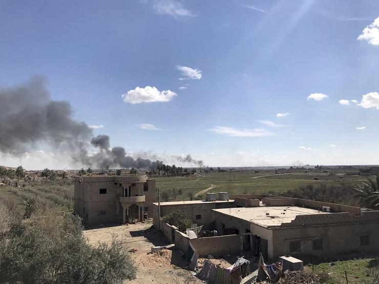 Baguz, Sirija, SDF