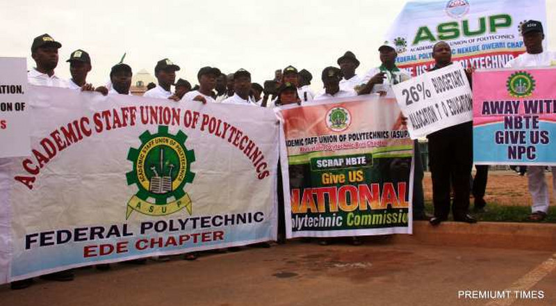 ASUP President explains why polytechnic lecturers' strike will continue