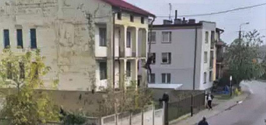 Ucieczka przed policją mogła skończyć się tragedią. Nastolatek spadł z dużej wysokości