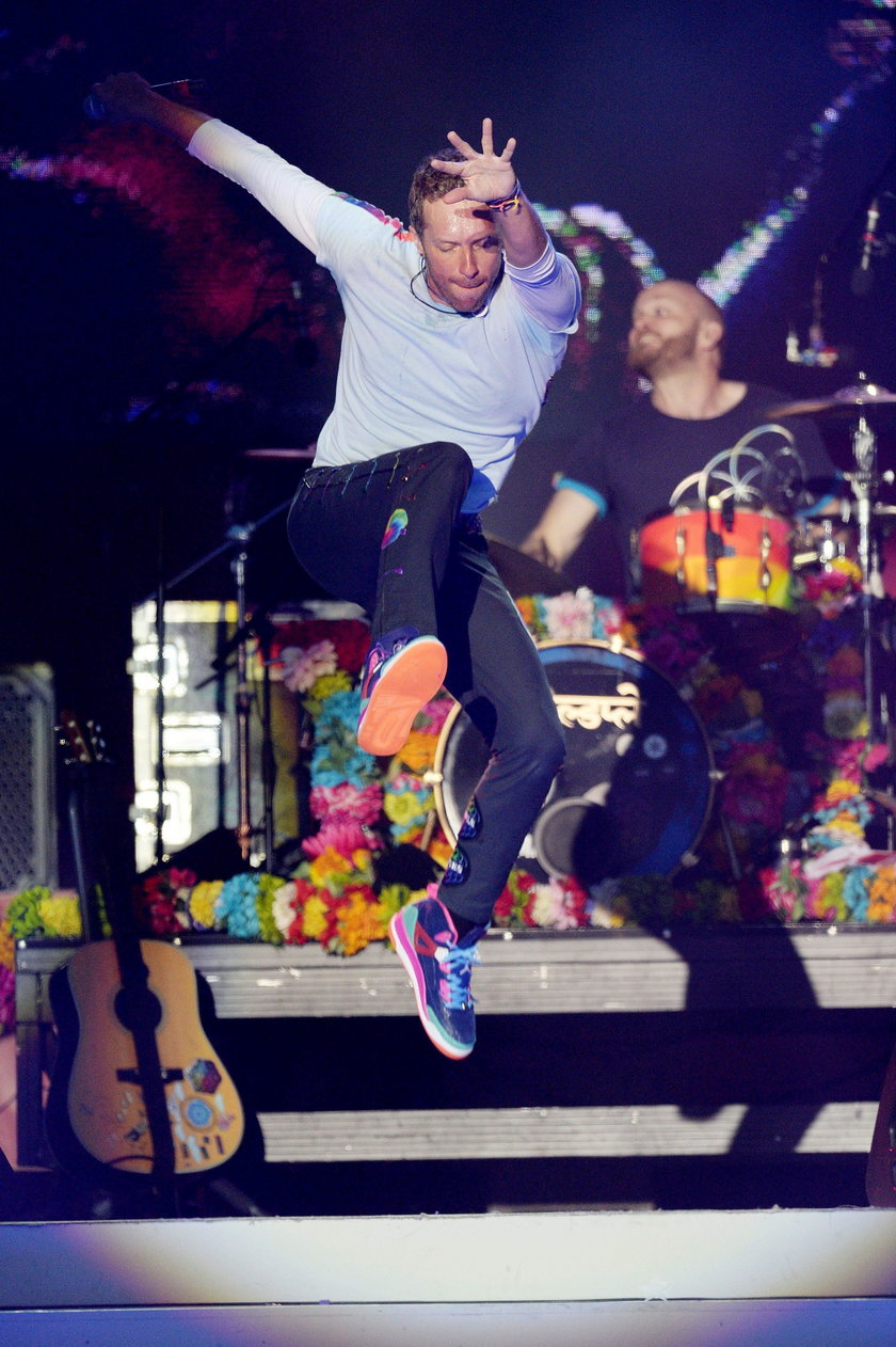 Chris Martin z Coldplay