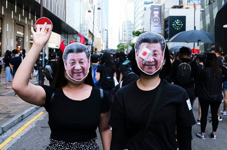 Hong Kong protesti 20 oktobar 2019