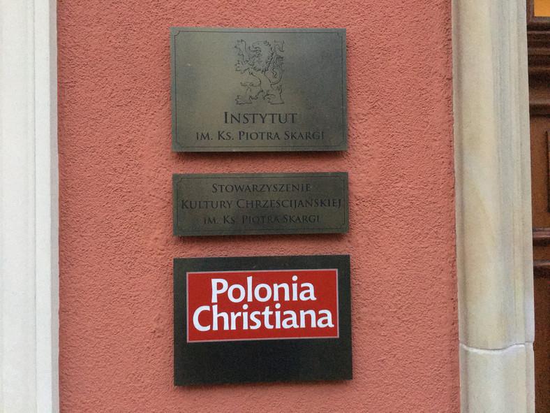 Siedziba Fundacji Instytut Piotra Skargi na krakowskim Kazimierzu,  fot. Konrad Szczygieł