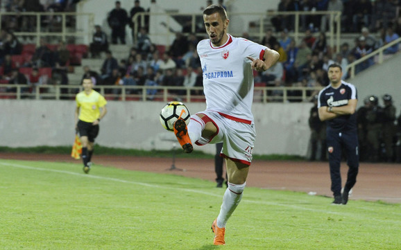 Nastavio seriju golova: Aleksandar Pešić