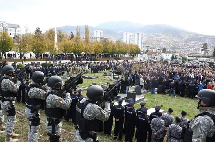 sahrana policajac Davor Vujinovic