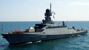 Rosyjskie okręty rakietowe Bujan-M na Bałtyku