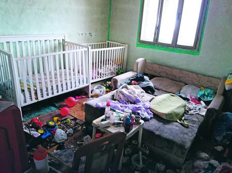 Dečja soba je u užasnom stanju