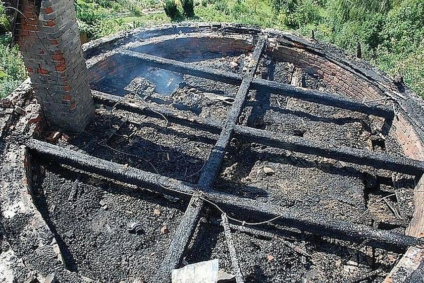 Spłonęła zabytkowa baszta w Jarosławiu
