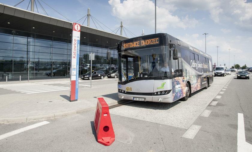 Katowice. Nowe linie autobusowe na lotnisko