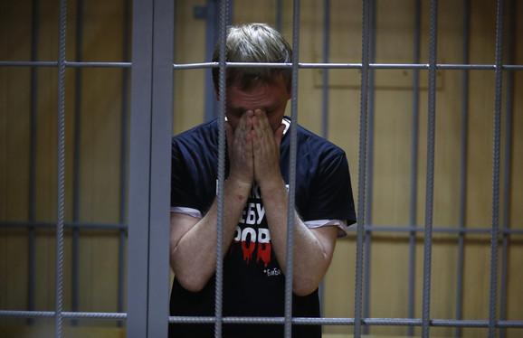 Novinar Ivan Golunov u pritvoru
