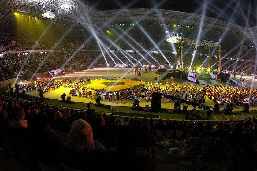 Otwarcie stadionu we Lwowie