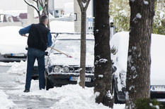 Sneg u Beogradu foto Predrag Dedijer