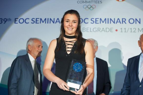 Karolin Bene je proglašena za najbolju mladu sportistkinju