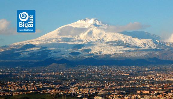 Sicilija i vulkan Etna