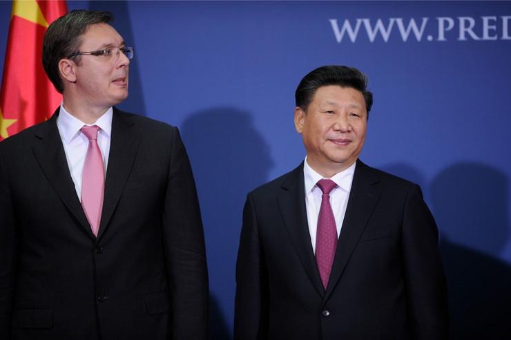 Vučić i Si Đinping