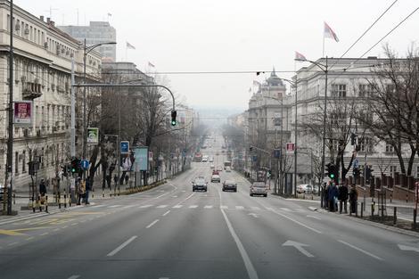 Poseta Erdogana će isprazniti neke ulice