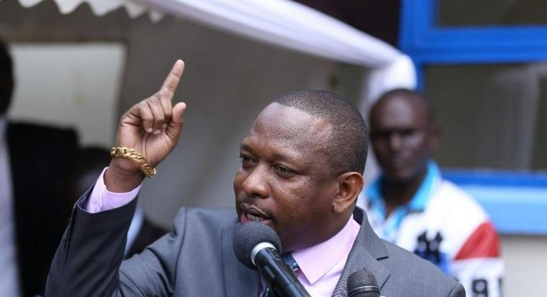 Nairobi Governor Mike Sonko at a past function