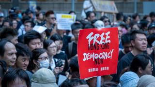 Hongkong: Slogan wystarczy, aby uznać cię za terrorystę